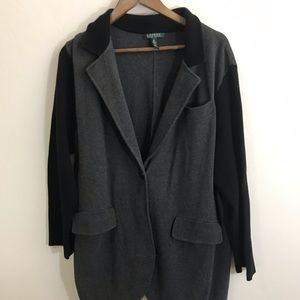 Lauren Ralph Lauren 3X Gray and Black Jacket